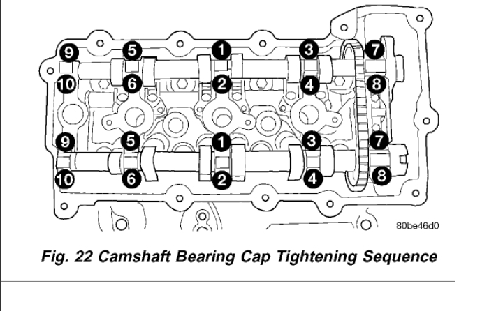 Torque Specs for the Camshaft Tower Bolts