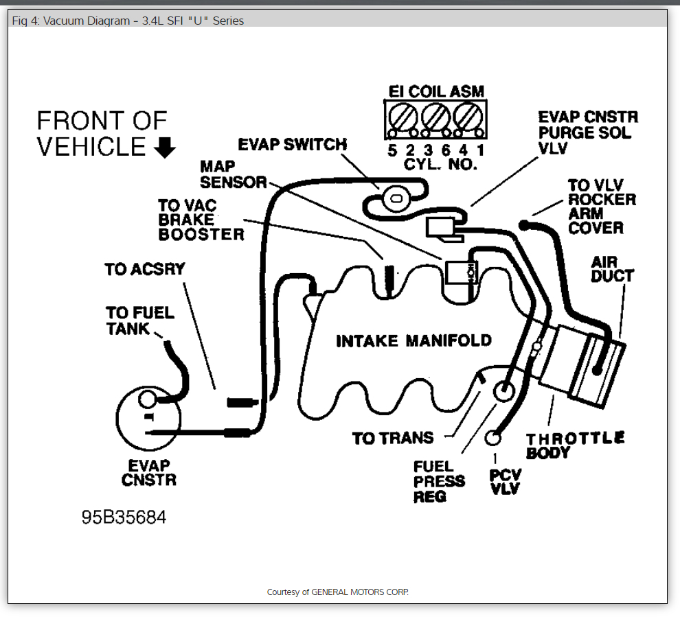 Chevy Lumina Engine 3100 Sfi V6 Diagram Chevy Lumina