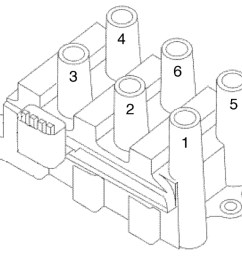 firing order engine performance problem front wheel drive 2002 ford windstar spark plug wiring diagram [ 1012 x 845 Pixel ]