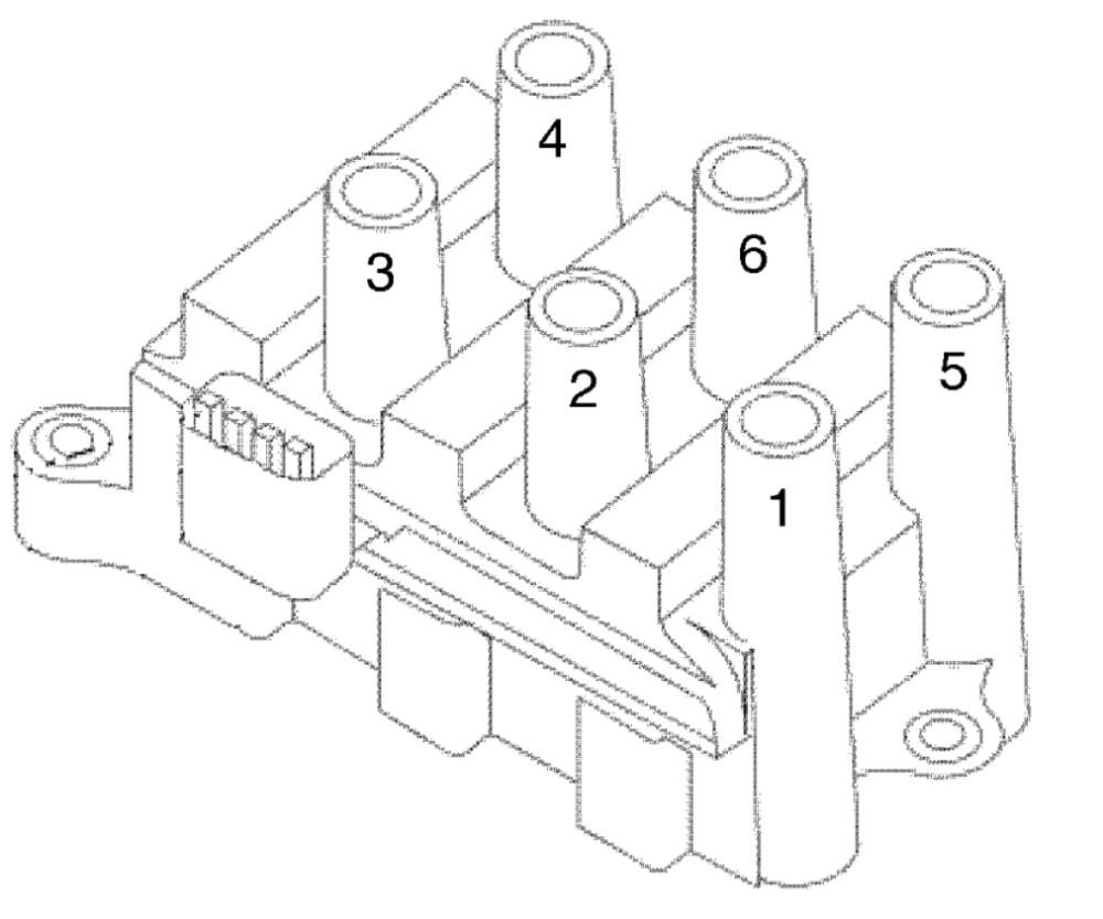 medium resolution of firing order engine performance problem front wheel drive 2002 ford windstar spark plug wiring diagram