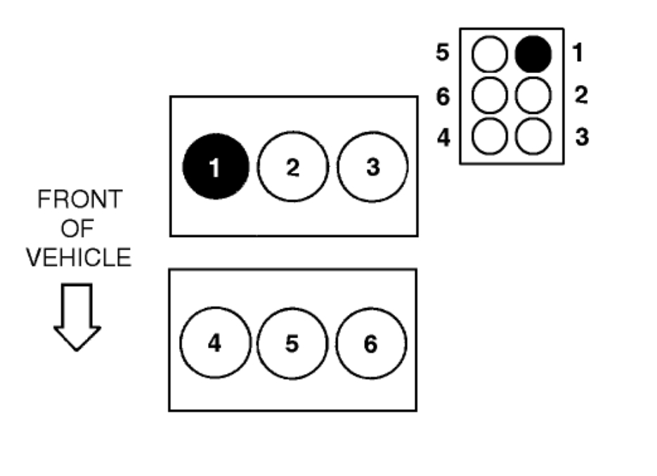 1995 ford windstar spark plug wires diagram