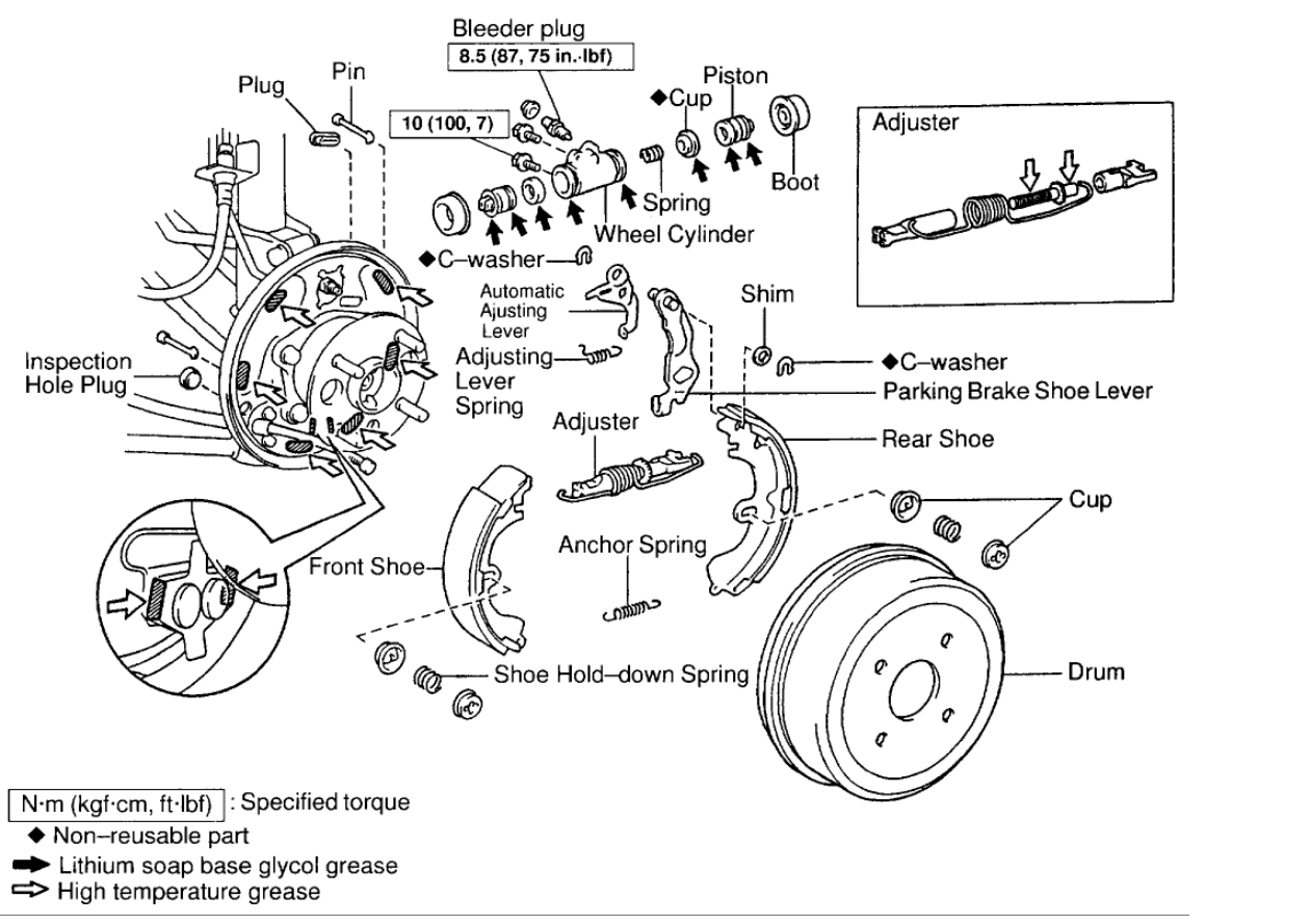 Toyota Brakes Diagram