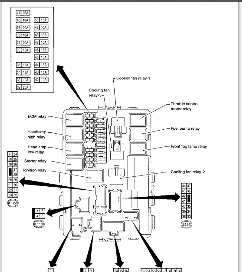 2005 nissan altima engine diagram sony cdx ca650x wiring fuel pump relay: where can i locate the relay for a 2006...
