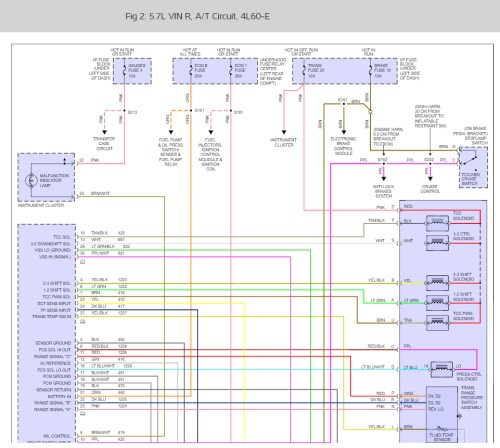 small resolution of transmission wiring diagrams please can i get a chevy 4l60e 2004 chevy tahoe transmission diagram 2004 chevy tahoe transmission diagram