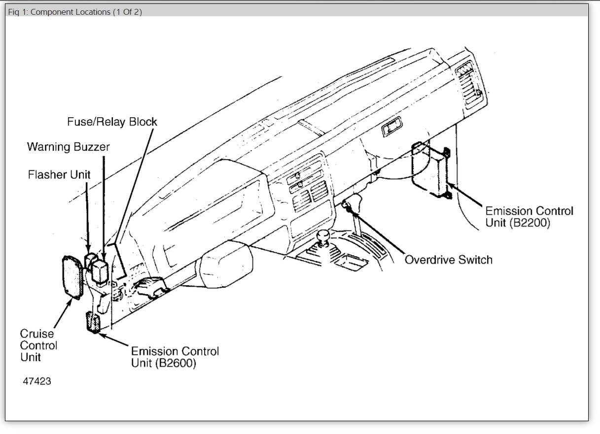 1986 toyota pickup fuse box diagram also 93 toyota pickup vacuum