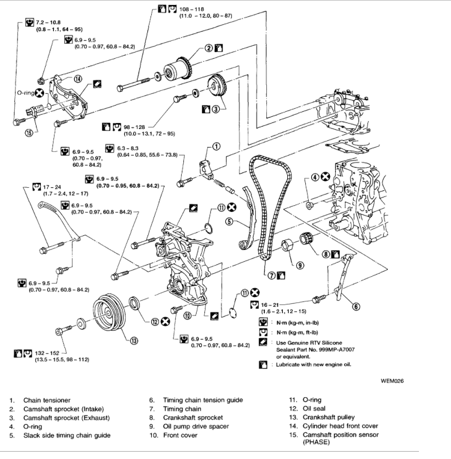 [WRG-7679] Ka24e Engine Diagram Pulleys