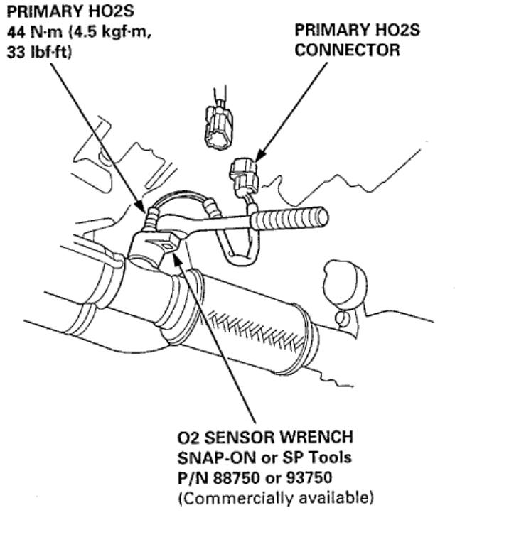 Need to Replace O2 Sensor (Bank 1 Sensor 2)