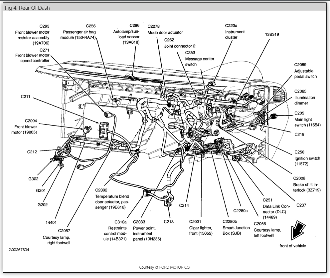 Diagram Ford Freestar Wiring Diagram Full Version