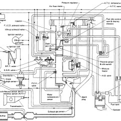 1987 Toyota Pickup Vacuum Line Diagram Schwinn Electric Scooter Wiring For A Z24 Four Cylinder Two Wheel Drive