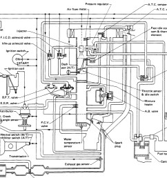 vacuum diagram for a z24 four cylinder two wheel drive manual 180nissan vacuum diagram 4 [ 1518 x 968 Pixel ]