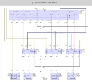 2003 Chevy Tahoe Power Window Switch Wiring Diagram