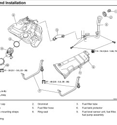 fuel filter location engine performance problem 4 cyl front wheel nissan fuel filter diagram [ 1148 x 902 Pixel ]