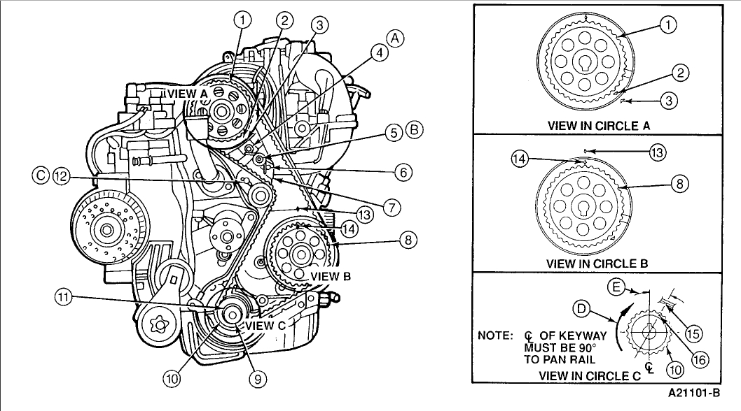1996 Ford 2 3 Engine Diagram • Wiring Diagram For Free