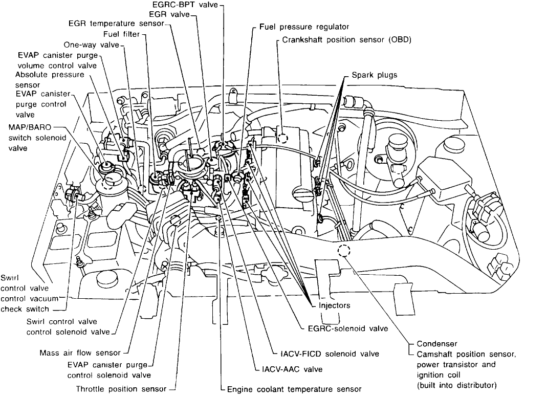Crankshaft Position Sensor a Circuit: Engine Mechanical