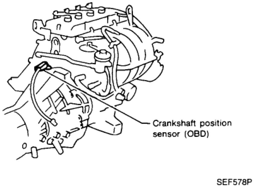 Crankshaft Position Sensor a Circuit: Engine Mechanical