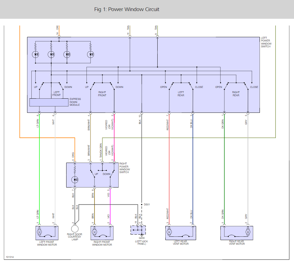 medium resolution of power window not working i have a 1999 dodge caravan and the 1999 dodge caravan power window diagram