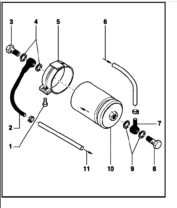 Fuel Filter Change: I Need to Know the Location of My Fuel