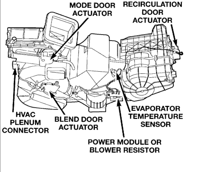 Service manual [How To Adjust Blend Door On A 1997