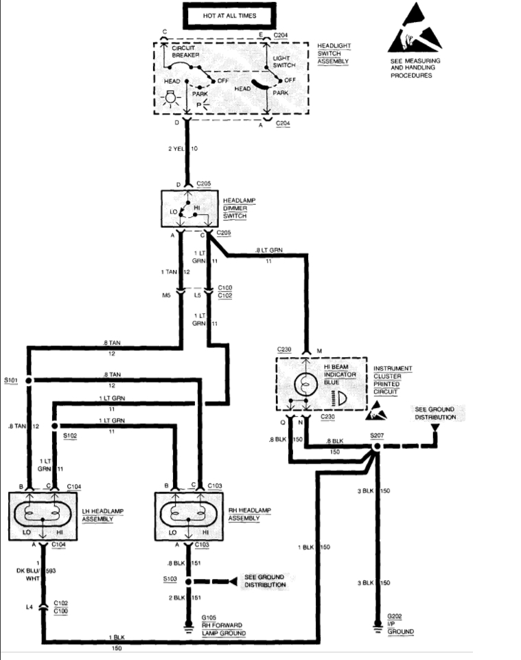 Dimmer Switch Wiring Diagram 1992 Chevy Truck. Diagrams