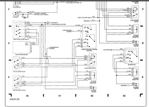 small resolution of a c heater control panel dark no functions workheat 1995 suburban wiring diagram 16