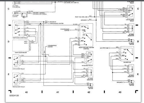 small resolution of heater control unit wiring diagram wiring diagrams terms climate control wiring diagram climate control wiring diagrams