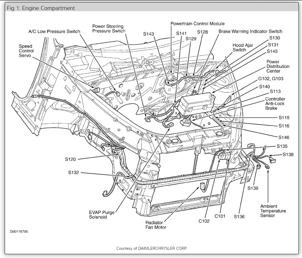 [DIAGRAM] 2001 Pt Cruiser Wiring Harness FULL Version HD