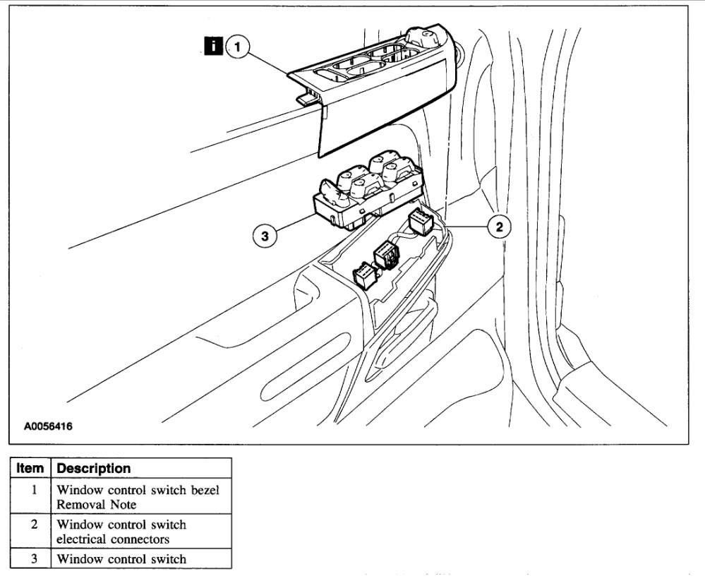 medium resolution of power windows not working electrical problem 2003 mercury mercury mountaineer window wiring diagram