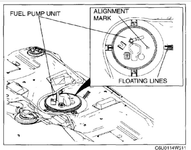 mazda 6 fuel filter change