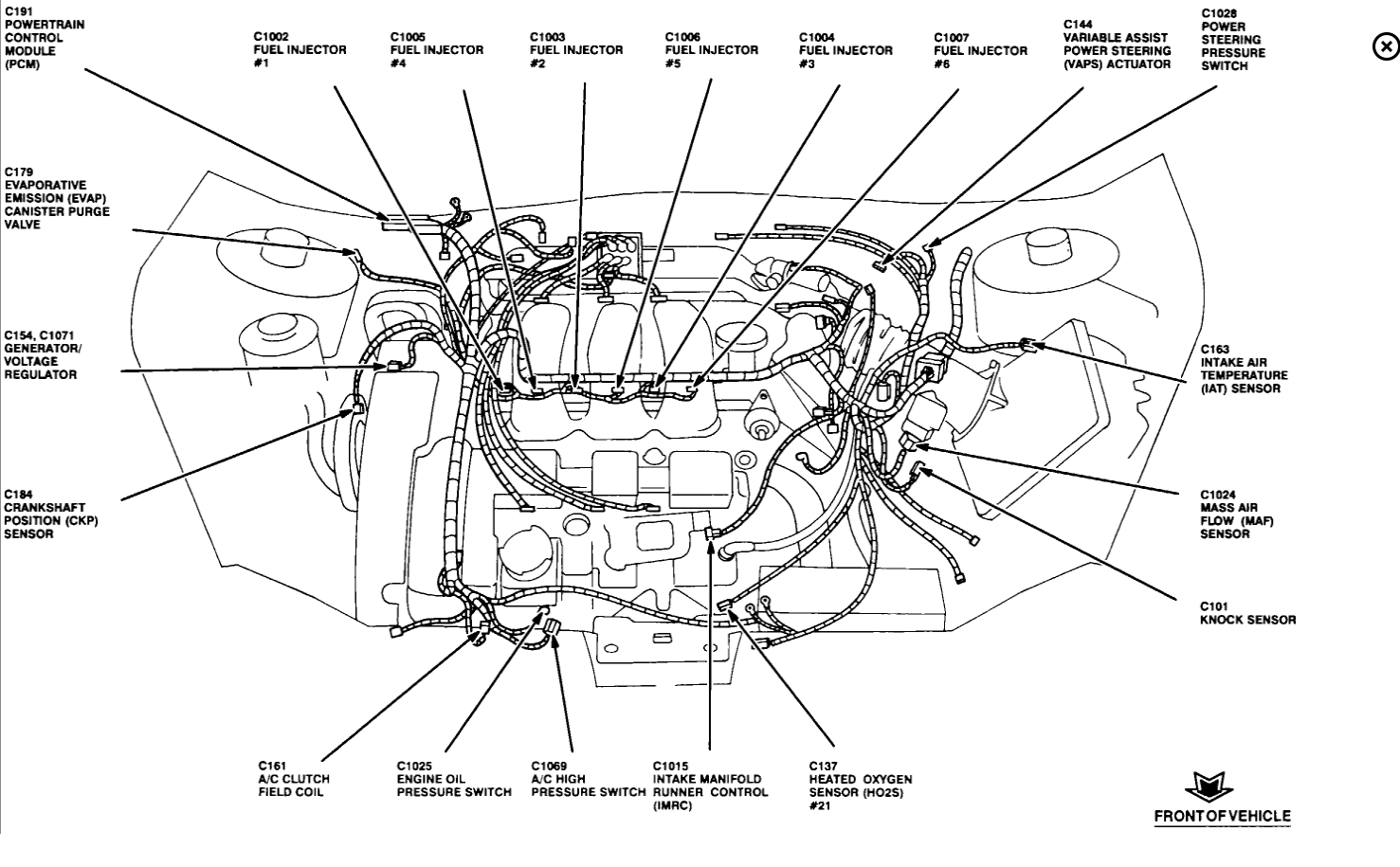 2000 Oldsmobile Intrigue Headlight Wiring Diagram