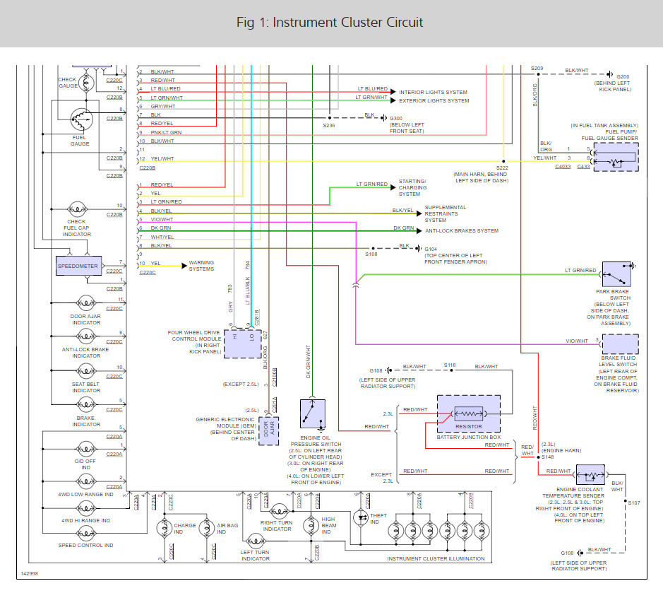 1996 ford explorer headlight wiring diagram honda accord dash lights not working i have a 2001 ranger edge with 3 thumb