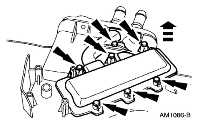 Heater Core: Heater Problem V8 Two Wheel Drive Automatic