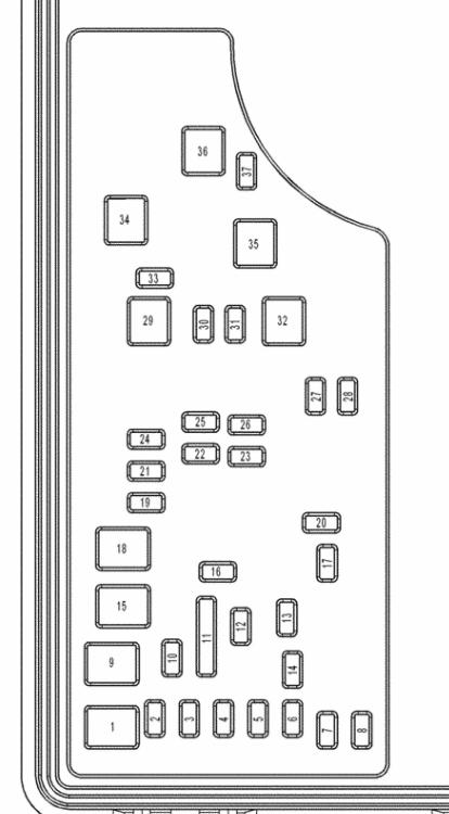 2008 chrysler pt cruiser fuse diagram