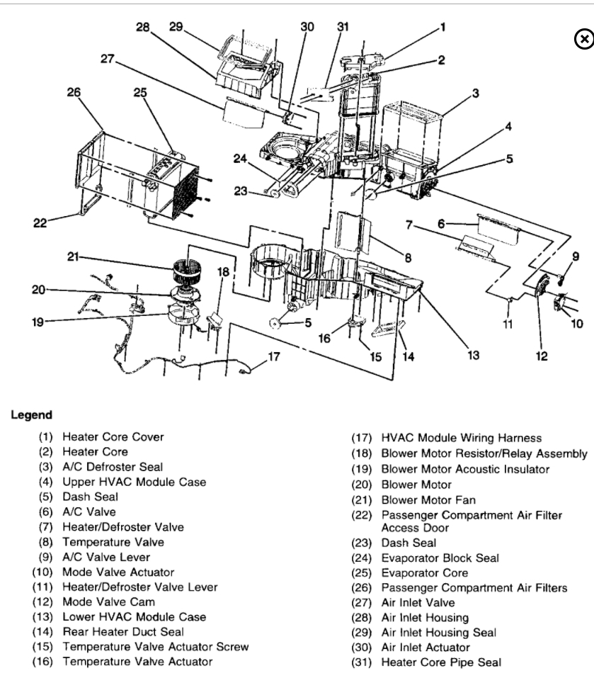 medium resolution of silverado cooling fan problems on diagram 2000 chevy silverado 2000 chevy silverado heater diagram