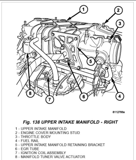 Knock Sensor Location: Engine Mechanical Problem 6 Cyl All