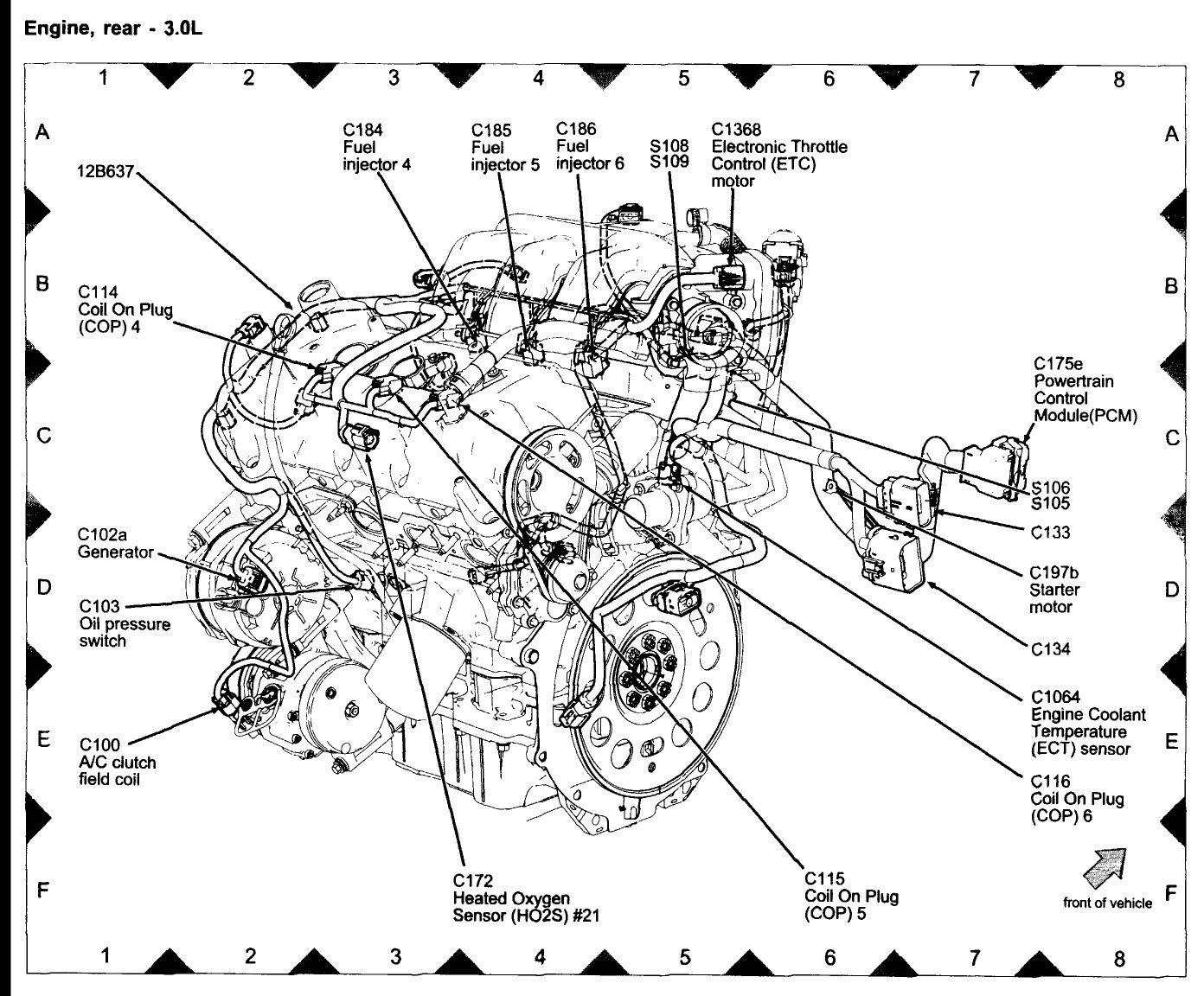 Lincoln Zephyr Wiring Diagram Auto Electrical 2006 Pcm