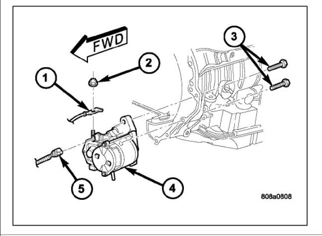 Will Not Crank Over: Electrical Problem V8 Two Wheel Drive