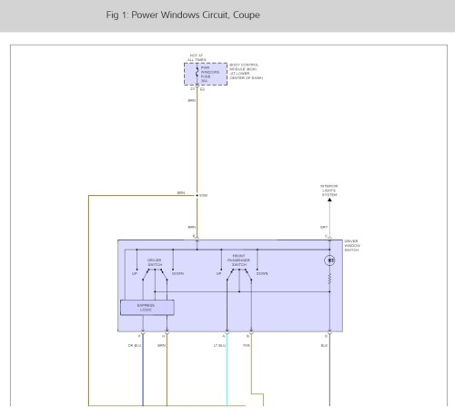 small resolution of 2003 saturn ion power window wiring diagram