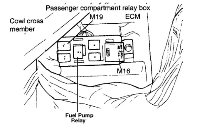 2001 hyundai accent fuel pump diagram