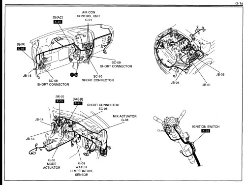 small resolution of blend door actuator locations located one of the two blend door 2005 sorento ac diagram