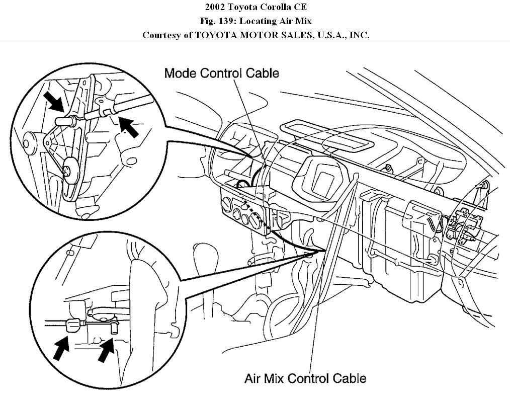 Heater in Toyota Corolla Does Not Work