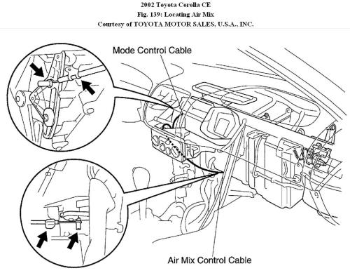 small resolution of heater in toyota corolla does not work 1995 toyota corolla engine diagram heater