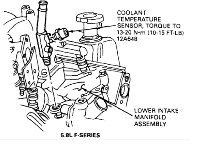 Engine Diagram F150 5 4 Thermostate Housing