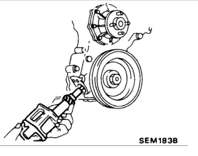 Cam Timing: I Have a 1991 Nissan Truck W/ 2.4L (ka24e