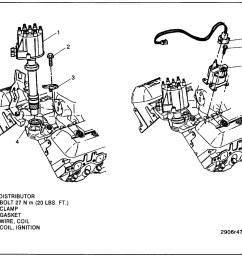 distributor how to remove replace the pickup coil in distributor 1997 chevy s10 coil diagram [ 1073 x 894 Pixel ]