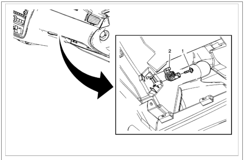 Glove Box Removal: I Need to Remove the Glove Box Door on