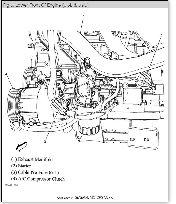 2006 Chevy Impala Starter Wiring Diagram