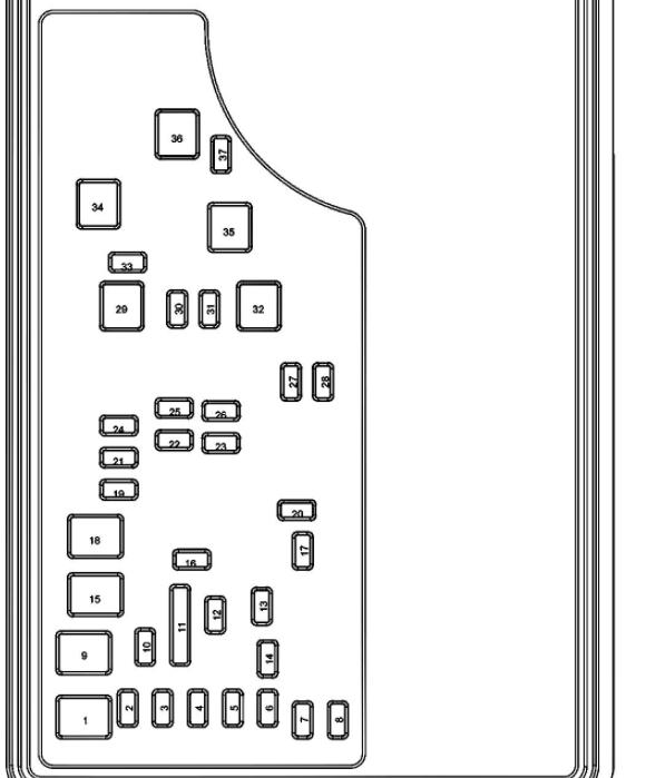 2007 Dodge Nitro Fuse Box Diagram