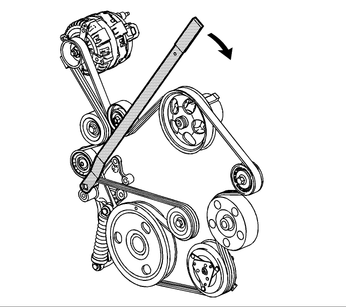 34 2008 Pontiac Grand Prix Serpentine Belt Diagram