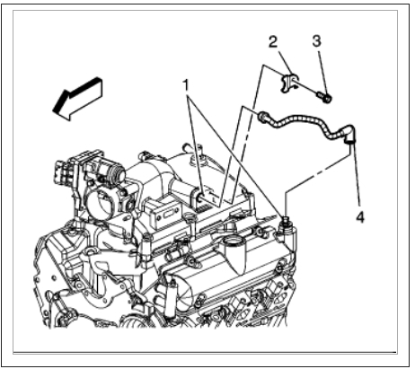 PCV Valve: Engine Problem 6 Cyl All Wheel Drive Automatic