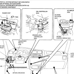Suzuki Cultus Car Electrical Wiring Diagram And Instructions Fuse Box